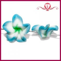 Koraliki fimo kwiatki
