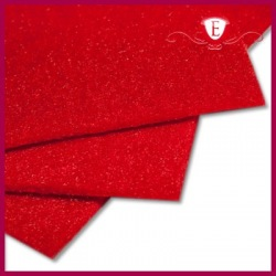Filc dekoracyjny czerwony