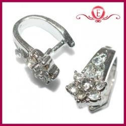 Krawatka ozdobna z kryształkami