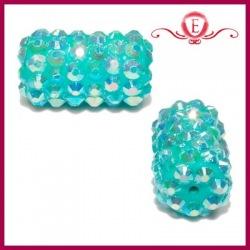Wałeczki z kryształkami