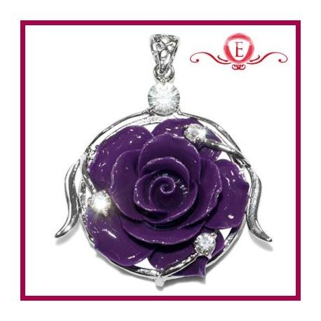 Róża w srebrze