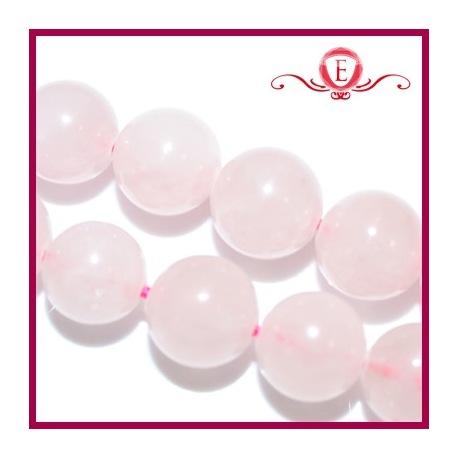 Kwarc różowy kule