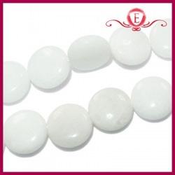 Jadeit biały monety