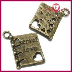 Zawieszka charms notes miłosny