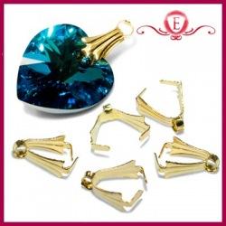 Krawatka ozdobna kolor złoty