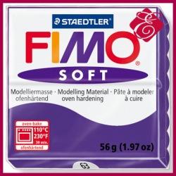 FIMO soft, masa termoutwardzalna 56g, fiołkowy