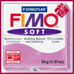 FIMO soft, masa termoutwardzalna 56g, lawenda