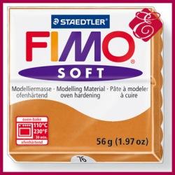 FIMO soft, masa termoutwardzalna 56g, koniakowy