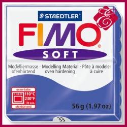 FIMO soft, masa termoutwardzalna 56g, niebieski