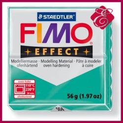 FIMO effect, modelina 56g, pomarańczowy przeźroczysty