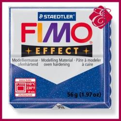 FIMO effect, modelina 56g, czerwony brokatowy