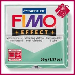 FIMO effect, modelina 56g, zielony metaliczny