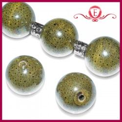 Kule ceramiczne szare nakrapiane