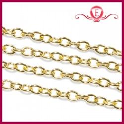 Łańcuszek ozdobny kolor złoty drobny