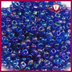 Koraliki szklane drobne - Sapphire