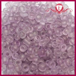 Koraliki szklane drobne - Medium Amethyst