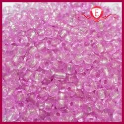 Koraliki szklane drobne - Hot Pink