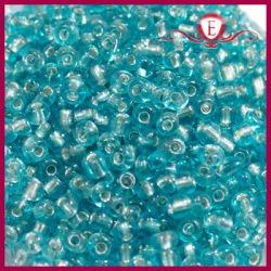 Koraliki szklane drobne - Aquamarine
