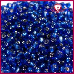 Koraliki szklane drobne - Dark Cobalt