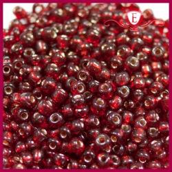 Koraliki szklane drobne - Dark Ruby
