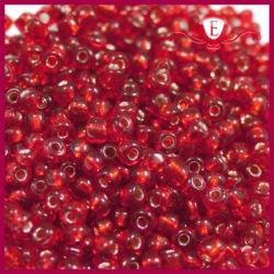 Koraliki szklane drobne - Ruby