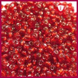 Koraliki szklane drobne - Siam Ruby