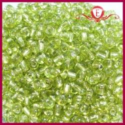 Koraliki szklane drobne - Lime Green