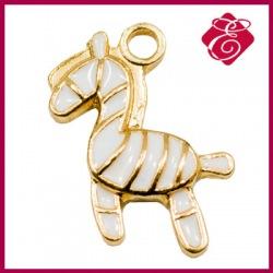 Zawieszka charms koń kolor złoty