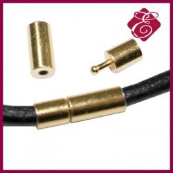 Zapięcie magnetyczne do rzemienia lub sznurka