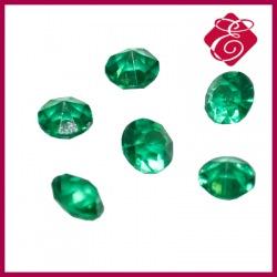 Cyrkonie akrylowe zielone