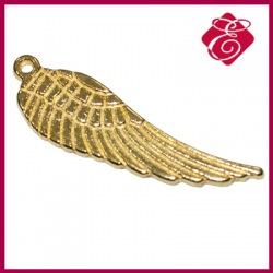 Zawieszka charms skrzydło kolor złoty