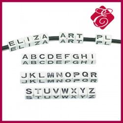 Kostka akrylowa litera A